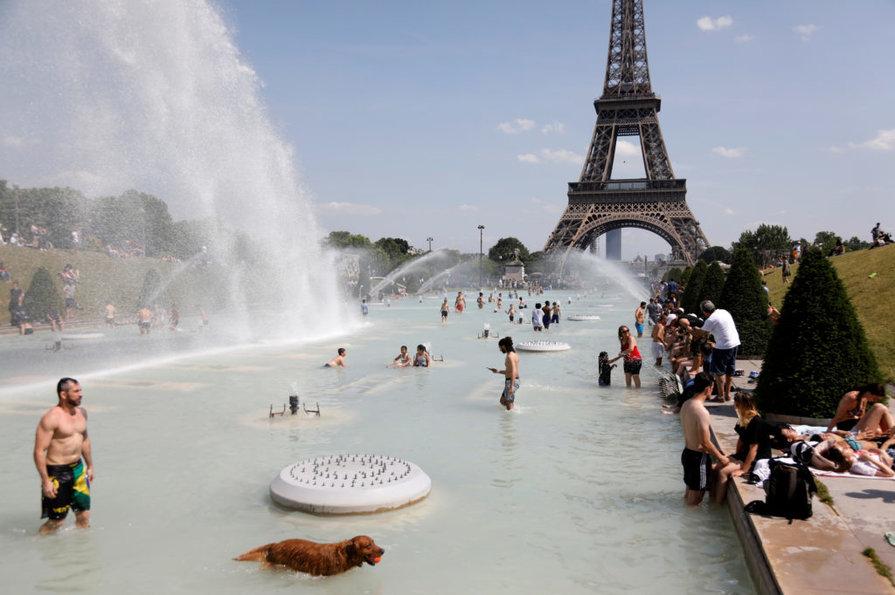 Високі температури змінять вигляд європейських міст