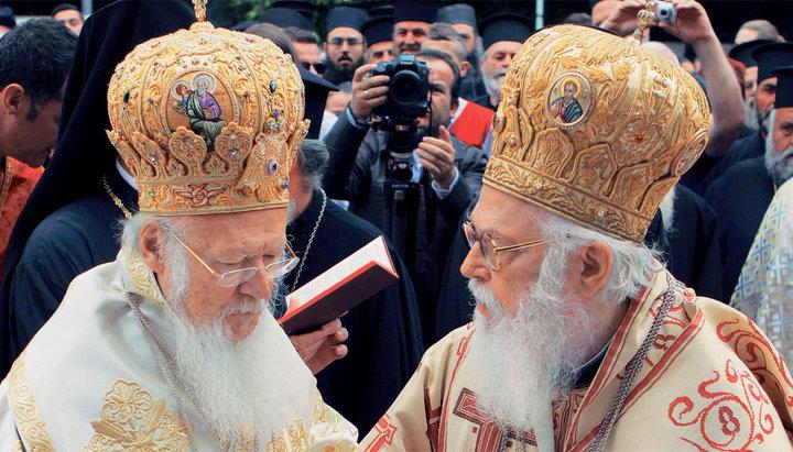 Церковная геополитическая борьба