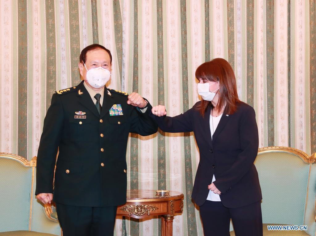 Європейський вояж міністра оборони КНР