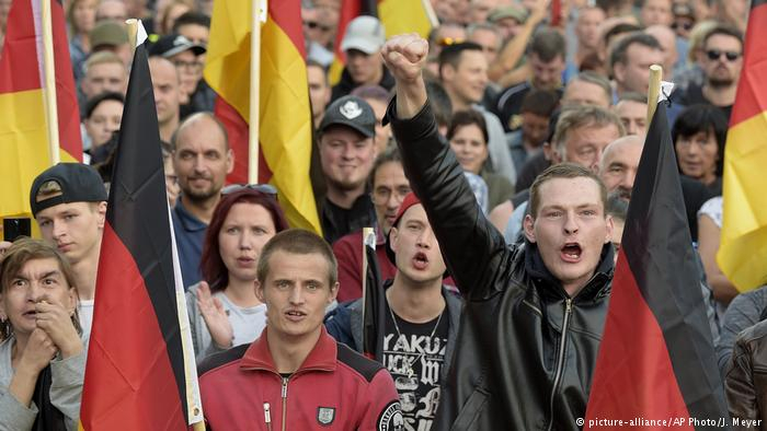 Ксенофобия растет в Германии, особенно на Востоке