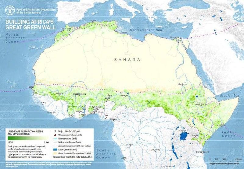Велика зелена стіна в Африці