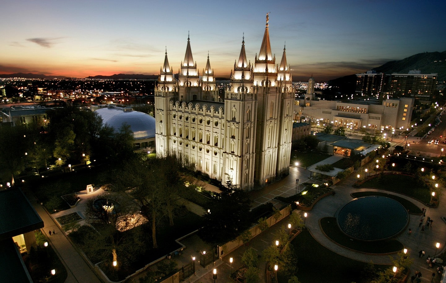 Mormon Church sets up foundation for Second Coming