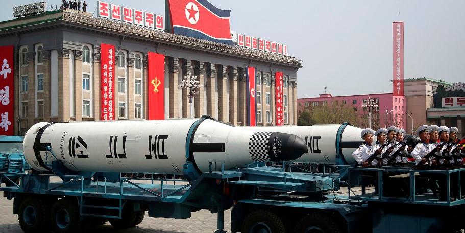 Северная Корея может создать 100 ядерных боеголовок к 2020 году