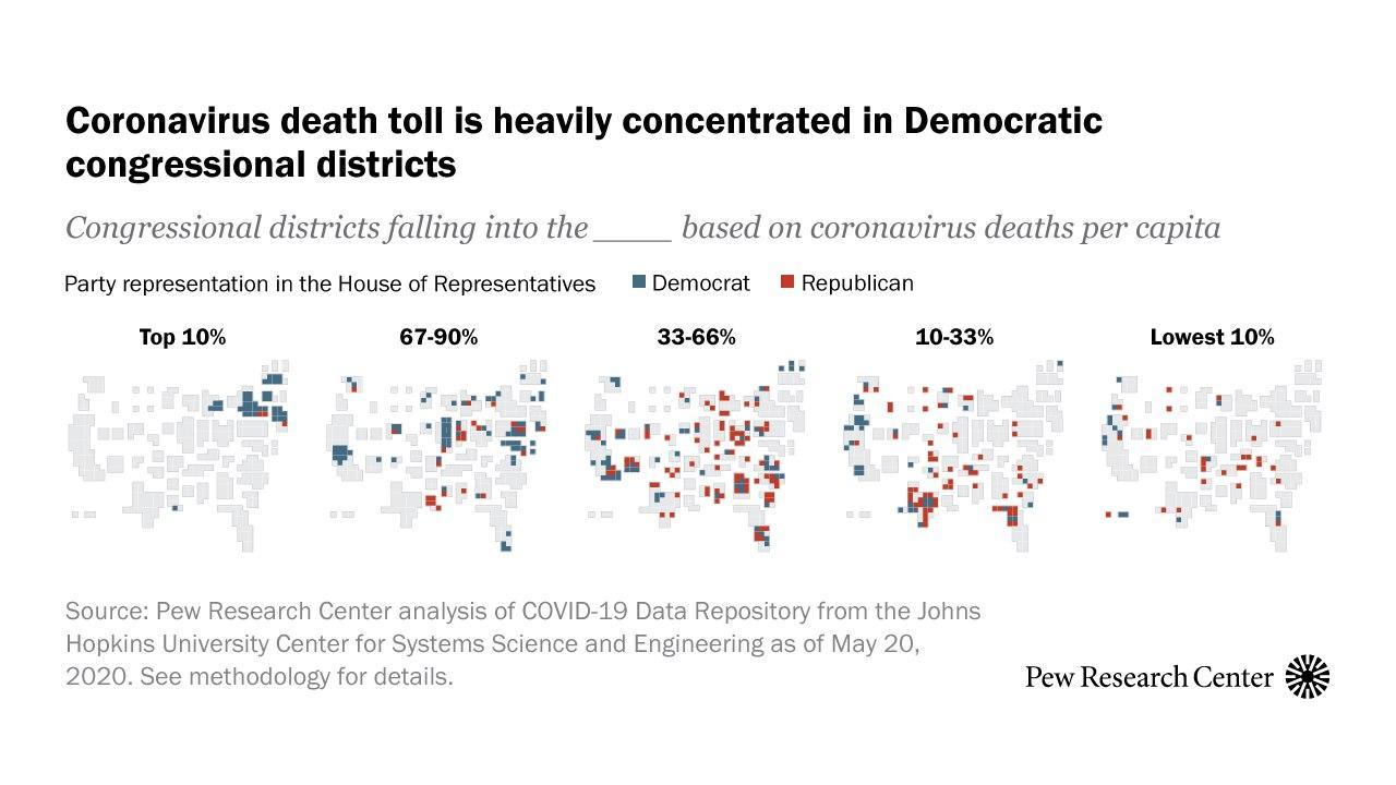 Політичні дивацтва американської статистики смертності від коронавируса