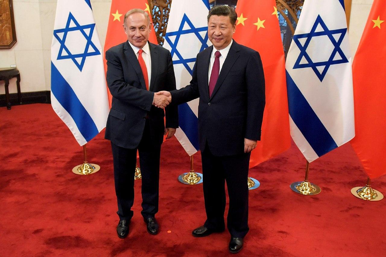 Ізраїль між Китаєм і США