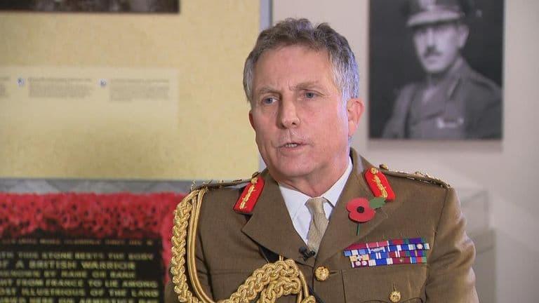 Глава вооруженных сил Великобритании предупредил о возможности мировой войны