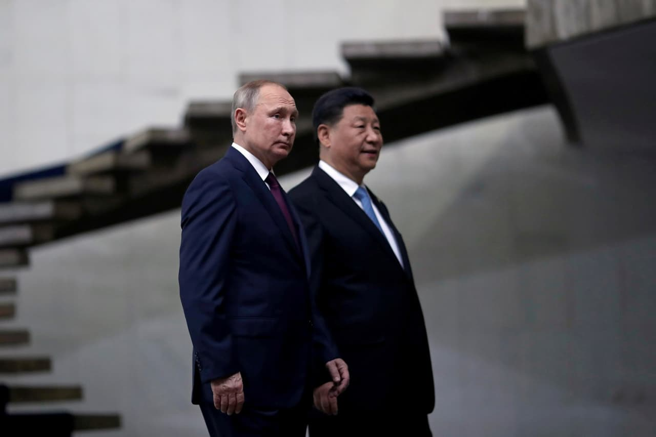 China and Russia may be on track for a military alliance