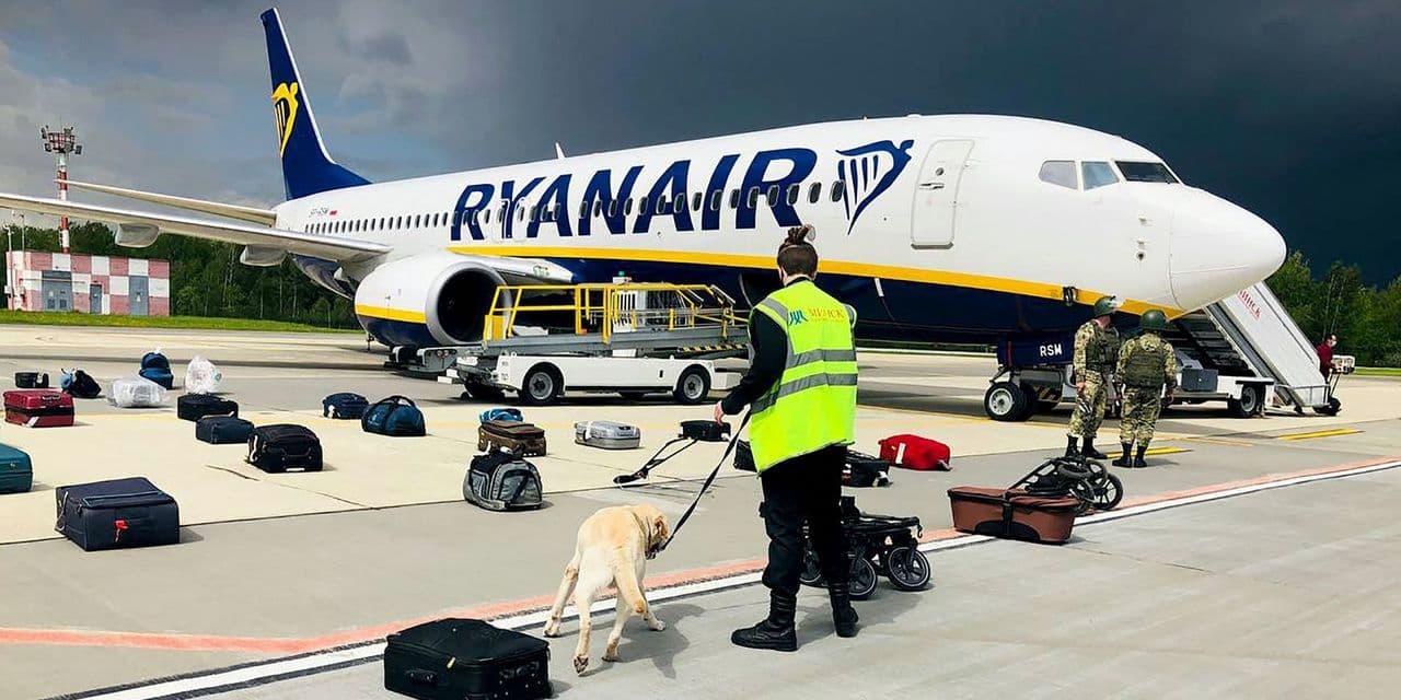 Самолет авиакомпании Ryanair совершил экстренную посадку в Минске