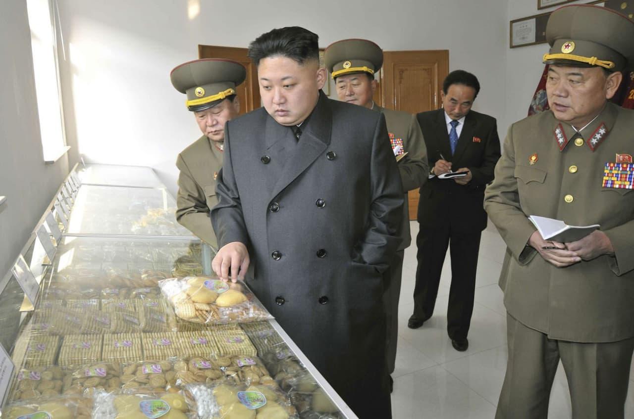 Kim Jong-un admits North Korea faces food shortages