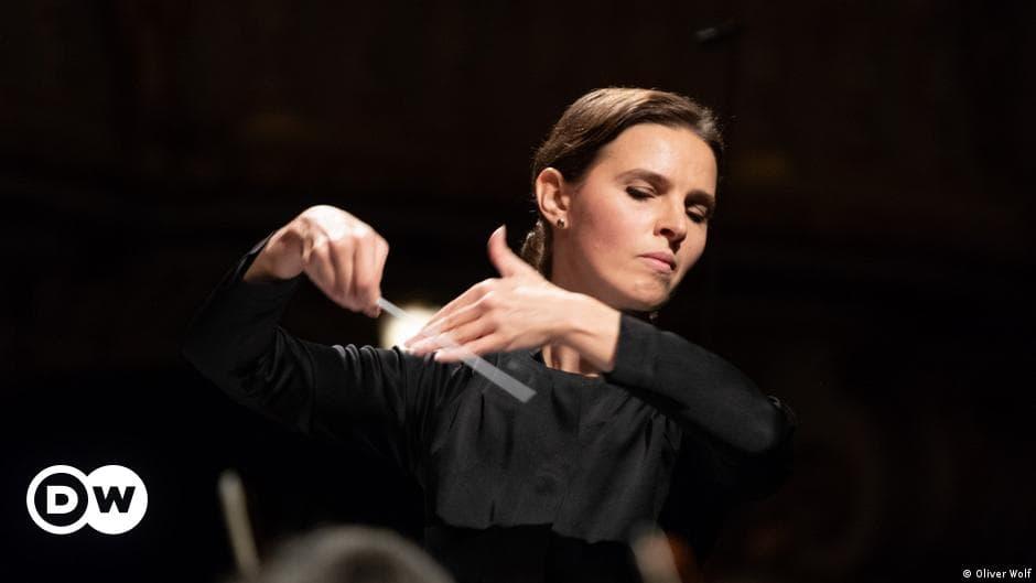 Oksana Lyniv, first female conductor of the Bayreuth Festival