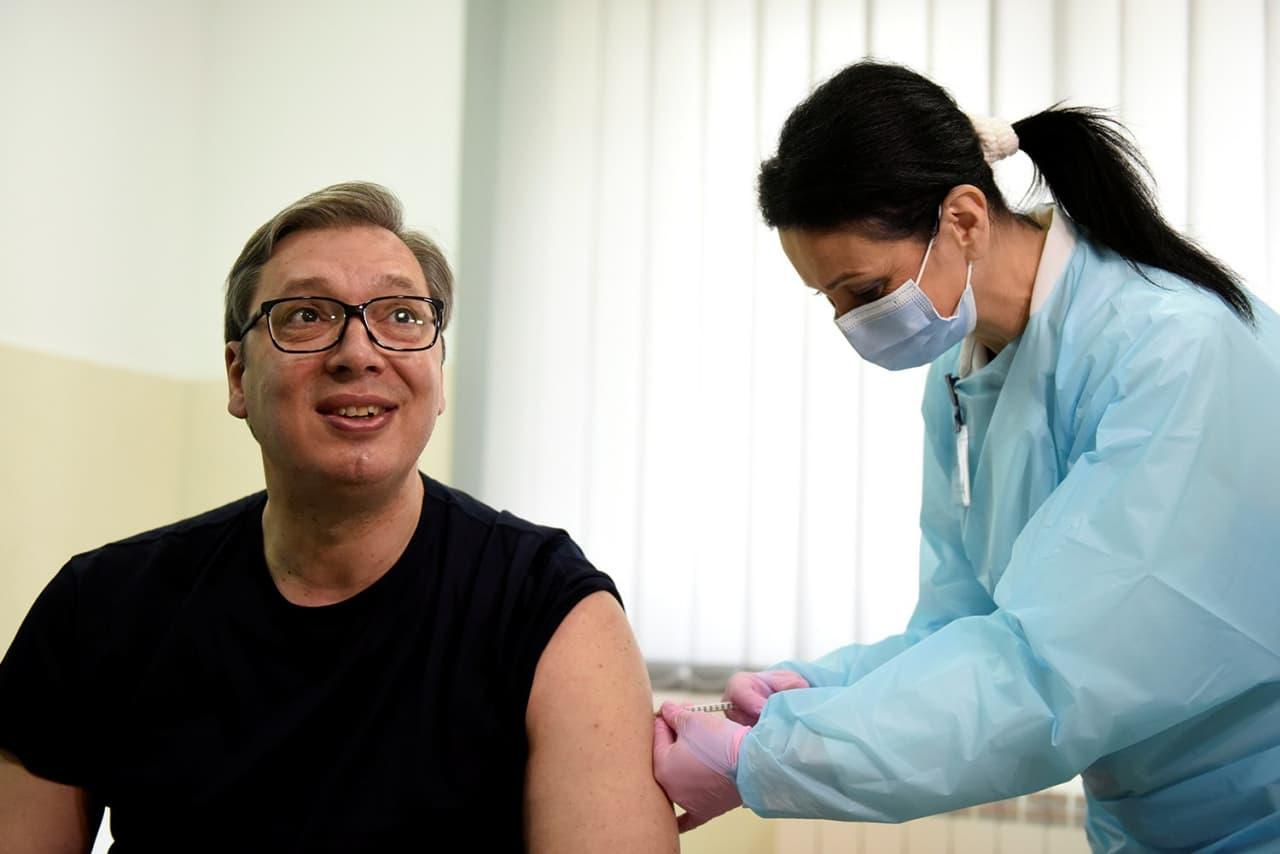 Завдяки гнучкості, Сербія стала одним з лідерів вакцинації в Європі