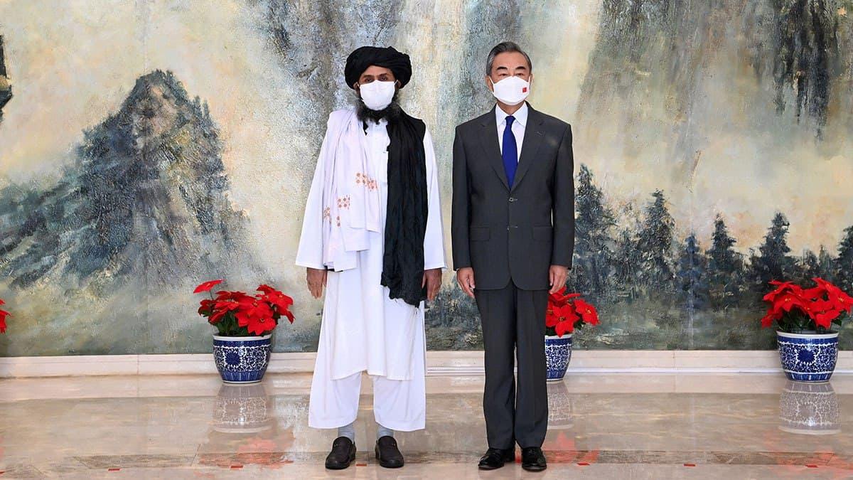 Китайська політика в Афганістані за талібів