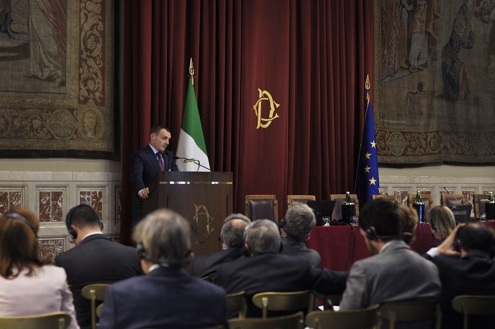 Українці вперше виступили в Sala della Regina Італійського парламенту